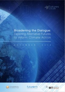 Broadening the Dialogue: Exploring Alternative Futures to Inform Climate Action