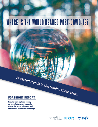 New Release: Foresight Report now available