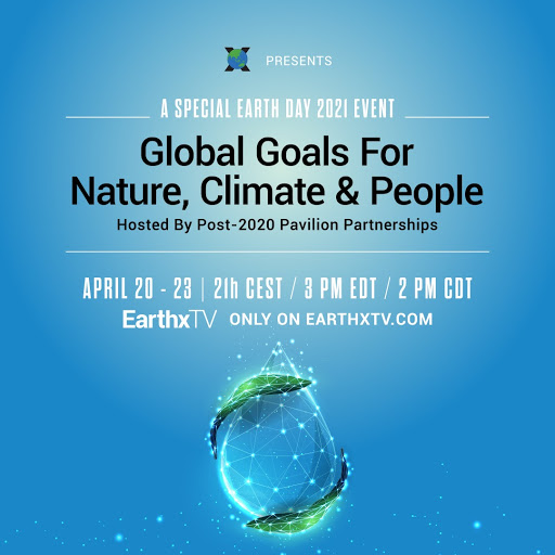 Join Dr. Éliane Ubalijoro and 18 other speakers for a special Earth Day 2021 event on EarthxTV
