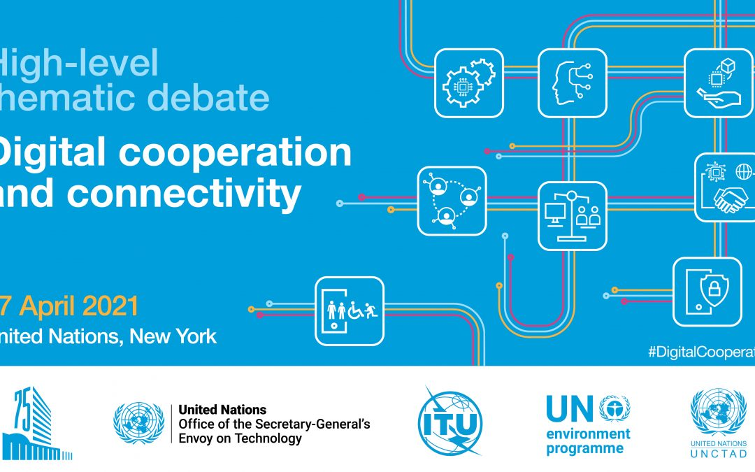 Tune in April 27 for the UN High-level Thematic Debate on Digital Cooperation and Connectivity