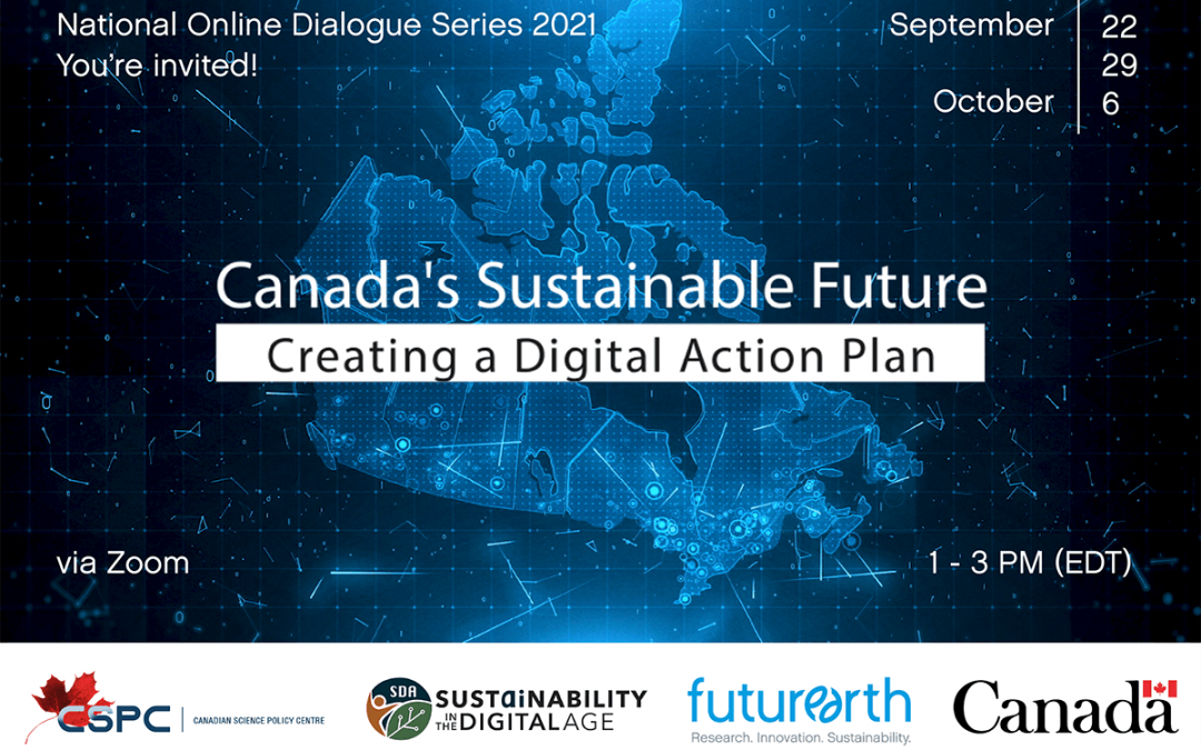 Event Launch: Canada's Sustainable Future – Creating a Digital Action Plan